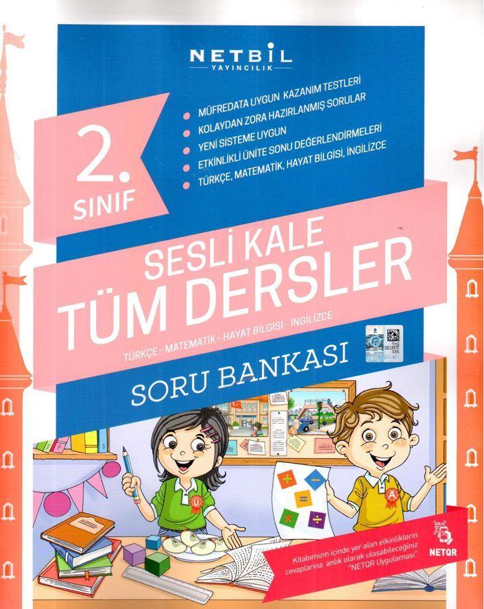 Netbil Yayıncılık 2. Sınıf Tüm Dersler Sesli Kale Soru Bankası