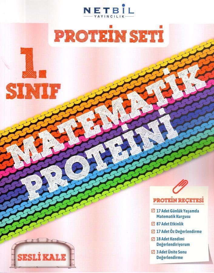 Netbil Yayıncılık 1. Sınıf Sesli Kale Protein Seti