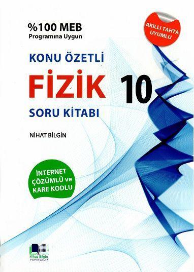 Nihat Bilgin Yayıncılık 10. Sınıf Fizik Konu Özetli Soru Bankası