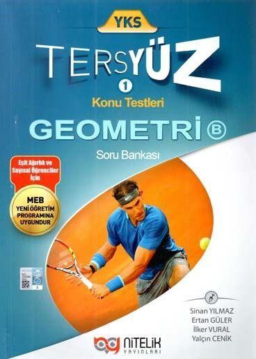 Nitelik Yayınları YKS Tersyüz Geometri B Soru Bankası
