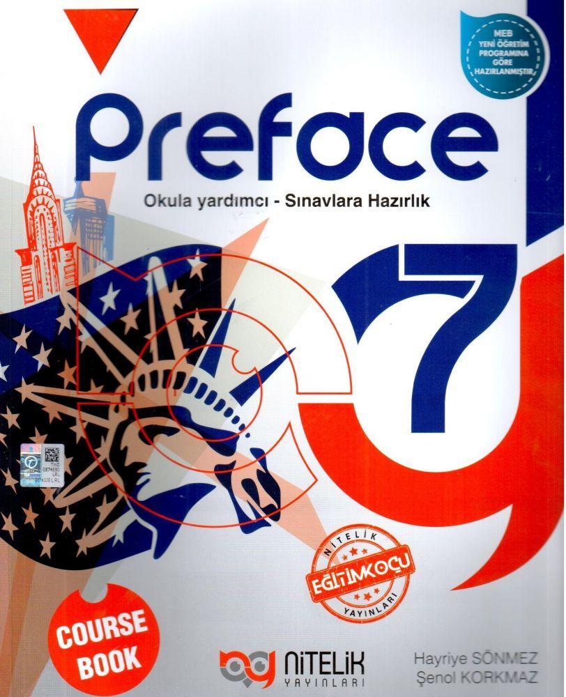 Nitelik Yayınları 7. Sınıf Preface Course Book