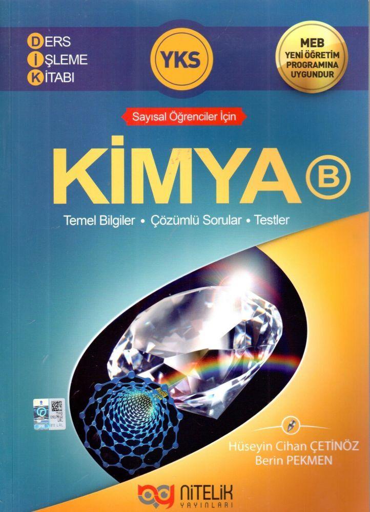 Nitelik Yayınları YKS Kimya B Ders İşleme Kitabı