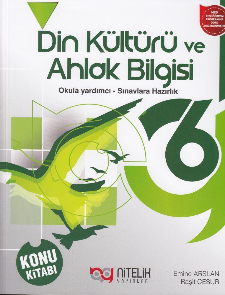 Nitelik Yayınları 6. Sınıf Din Kültürü ve Ahlak Bilgisi Konu Kitabı