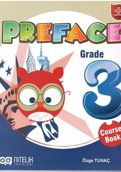Nitelik Yayınları Preface Grade 3 Course Book