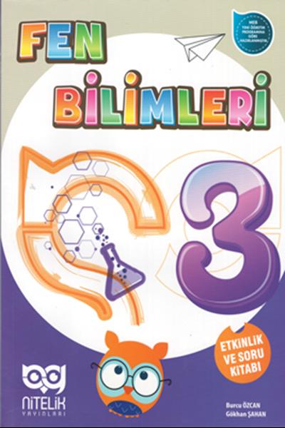 Nitelik Yayınları Fen Bilimleri 3. Sınıf Etkinlik ve Soru Kitabı