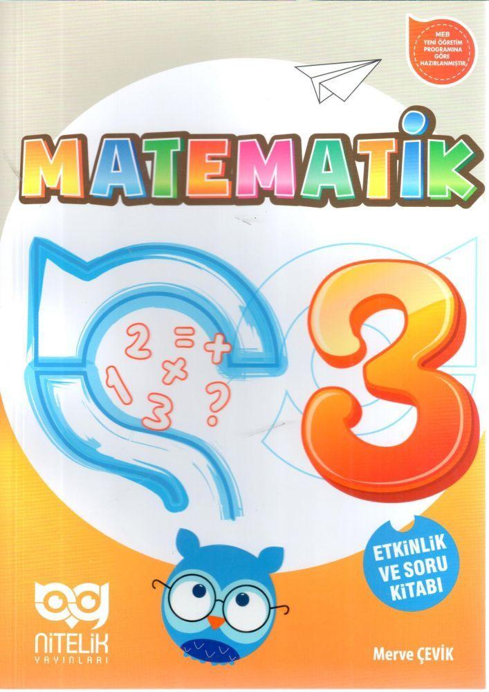 Nitelik Yayınları 3. Sınıf Matematik Etkinlik ve Soru Kitabı