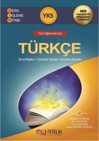 Nitelik Yayınları YKS Türkçe Ders İşleme Kitabı