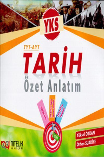 Nitelik Yayınları TYT AYT Tarih Özet Anlatım