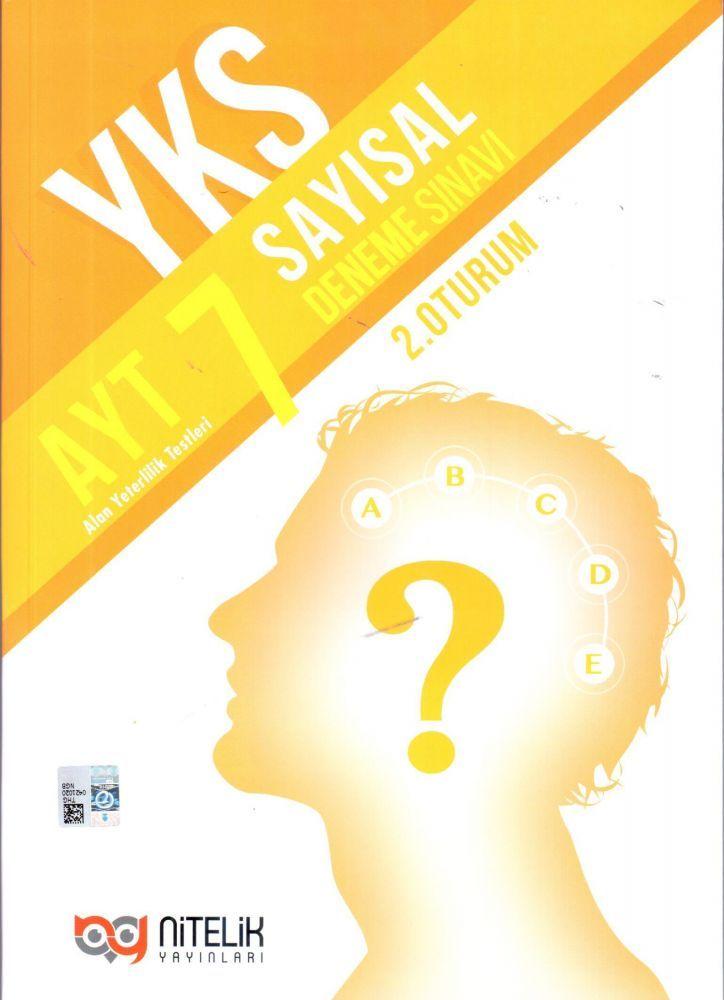 Nitelik Yayınları AYT 7 Sayısal Deneme Sınavı