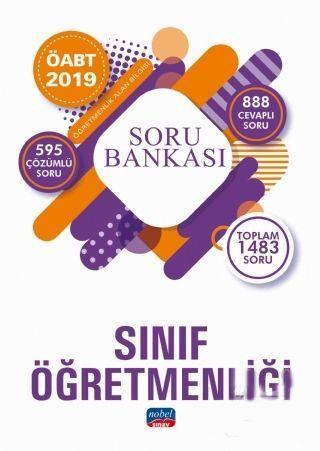 Nobel Sınav Yayınları 2019 ÖABT Sınıf Öğretmenliği Soru Bankası
