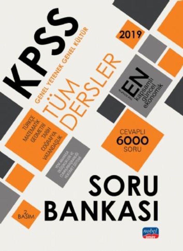 Nobel Sınav Yayınları KPSS Genel Yetenek Genel Kültür Tüm Dersler Soru Bankası