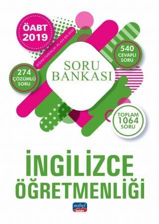 Nobel Yayınları 2019 ÖABT İngilizce Öğretmenliği Soru Bankası