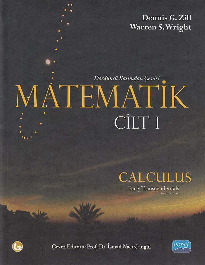 Nobel Yayınları Matematik Cilt 1 Calculus