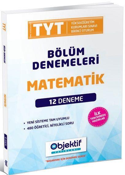 Objektif Yayınları TYT Matematik 12 li Bölüm Denemeleri