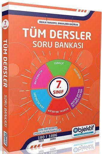 Objektif Yayınları 7. Sınıf Tüm Dersler Soru Bankası
