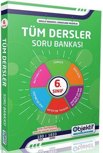 Objektif Yayınları 6. Sınıf Tüm Dersler Soru Bankası