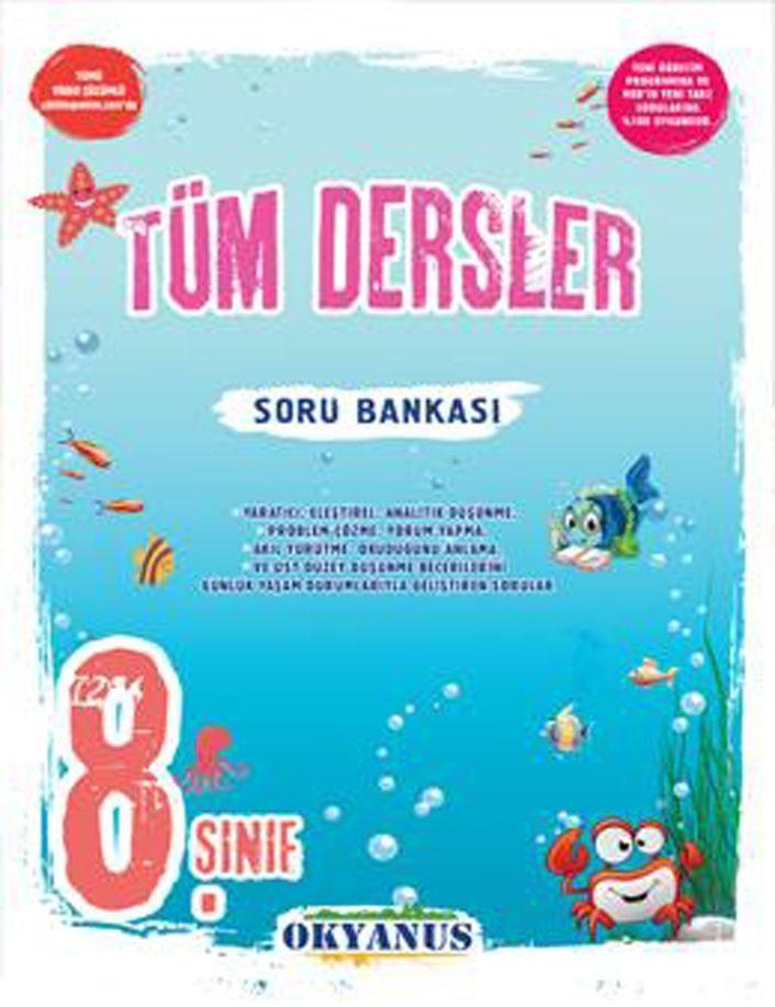 Okyanus Yayınları 8. Sınıf Tüm Dersler Soru Bankası