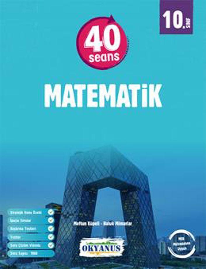 Okyanus Yayınları 10. Sınıf 40 Seansta Matematik Soru Bankası