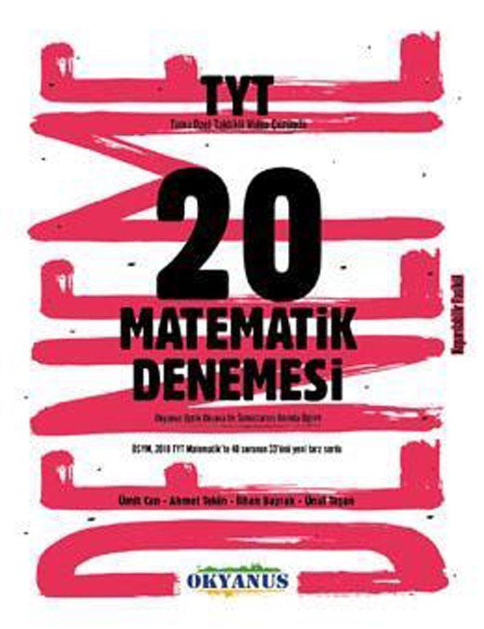 Okyanus Yayınları TYT Matematik 20 Denemesi