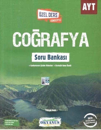 Okyanus Yayınları AYT Coğrafya Özel Ders Konseptli Soru Bankası