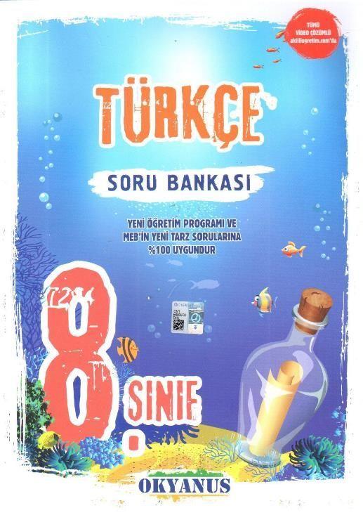 Okyanus Yayınları 8. Sınıf Türkçe Soru Bankası