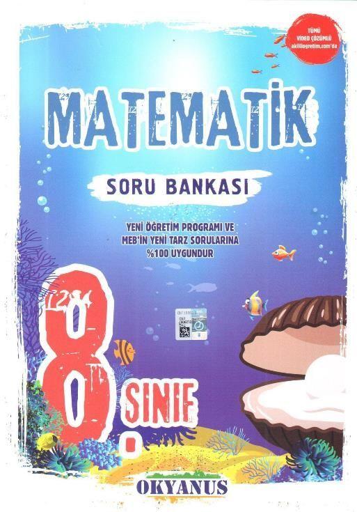 Okyanus Yayınları 8. Sınıf Matematik Soru Bankası