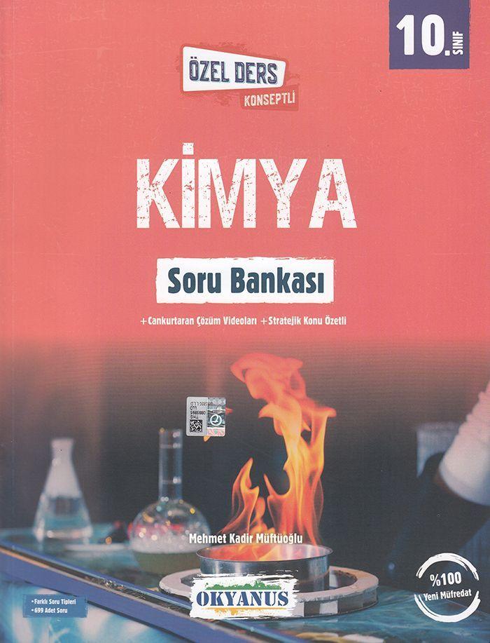 Okyanus Yayınları 10. Sınıf Kimya Özel Ders Konseptli Soru Bankası
