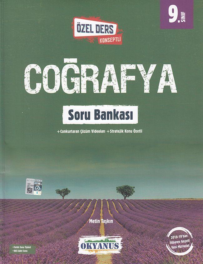 Okyanus Yayınları 9. Sınıf Özel Ders Konseptli Coğrafya Soru Bankası
