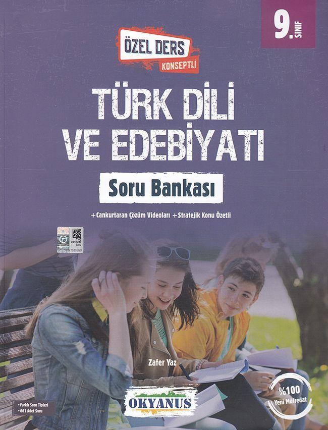 Okyanus Yayınları 9. Sınıf Özel Ders Konseptli Türk Dili ve Edebiyatı Soru Bankası