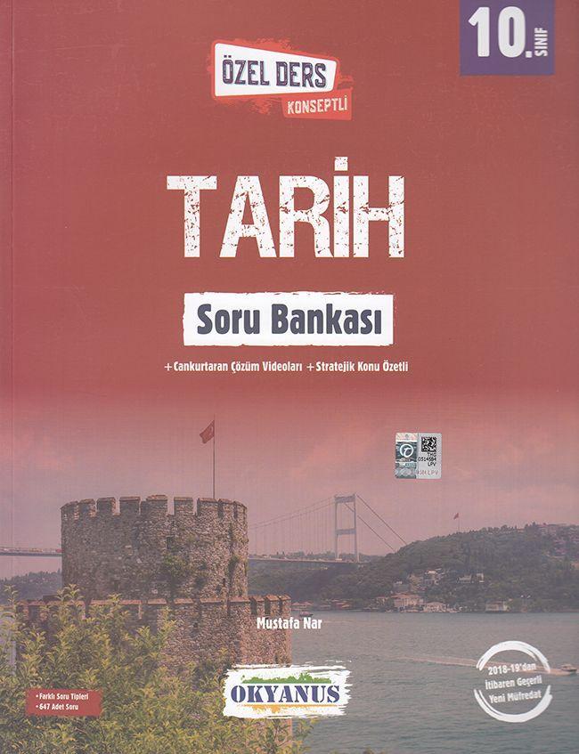 Okyanus Yayınları 10. Sınıf Özel Ders Konseptli Tarih Soru Bankası