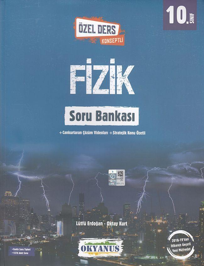 Okyanus Yayınları 10. Sınıf Özel Ders Konseptli Fizik Soru Bankası