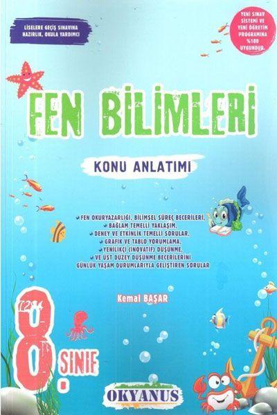 Okyanus Yayınları 8. Sınıf Fen Bilimleri Konu Anlatımı