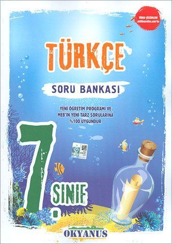 Okyanus Yayınları 7. Sınıf Türkçe Soru Bankası