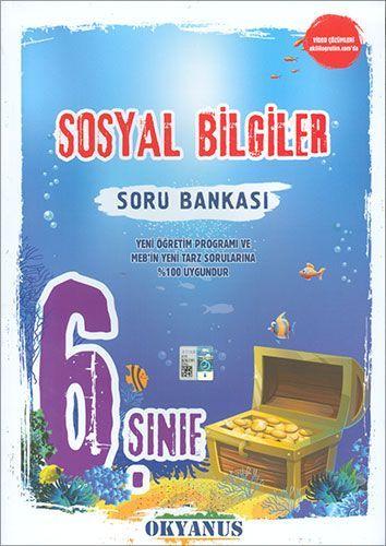 Okyanus Yayınları 6. Sınıf Sosyal Bilgiler Soru Bankası