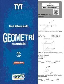 Okyanus Yayınları TYT Geometri Tümü Video Çözümlü Mikro Konu Testleri