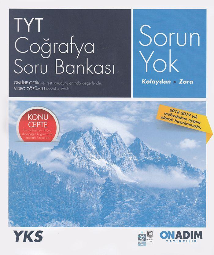 Onadım Yayıncılık TYT Coğrafya Soru Bankası