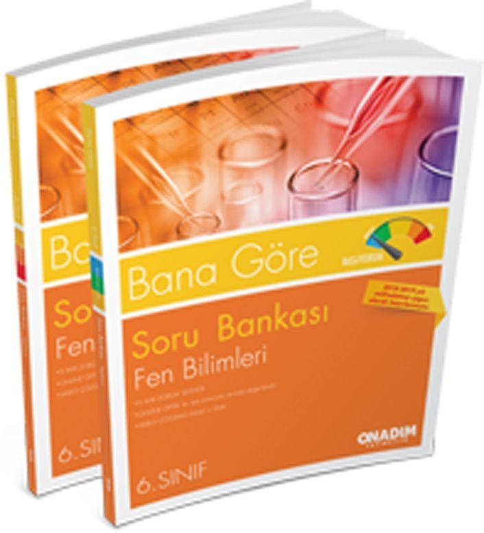 Onadım Yayıncılık 6. Sınıf Fen Bilimleri Bana Göre Soru Bankası