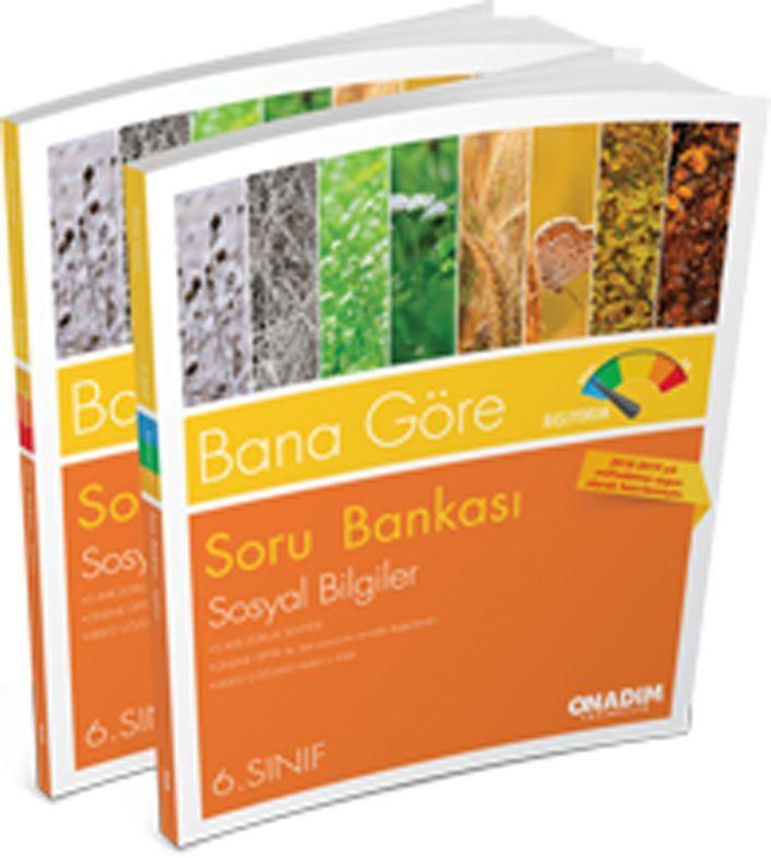 Onadım Yayıncılık 6. Sınıf Sosyal Bilgiler Bana Göre Soru Bankası