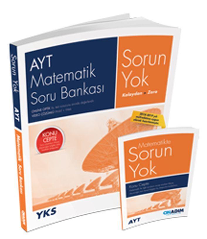 Onadım Yayıncılık AYT Matematik Sorun Yok Soru Bankası