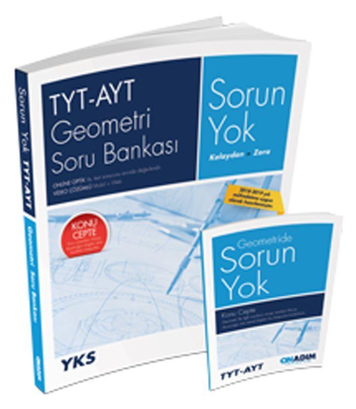 Onadım Yayıncılık TYT AYT Geometri Sorun Yok Soru Bankası