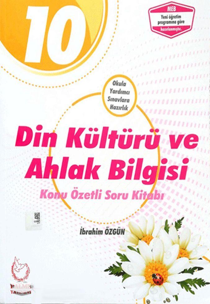 Palme Yayınları 10. Sınıf Din Kültürü ve Ahlak Bilgisi Konu Özetli Soru Kitabı