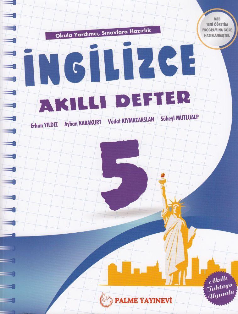 Palme Yayınları 5. Sınıf İngilizce Akıllı Defter