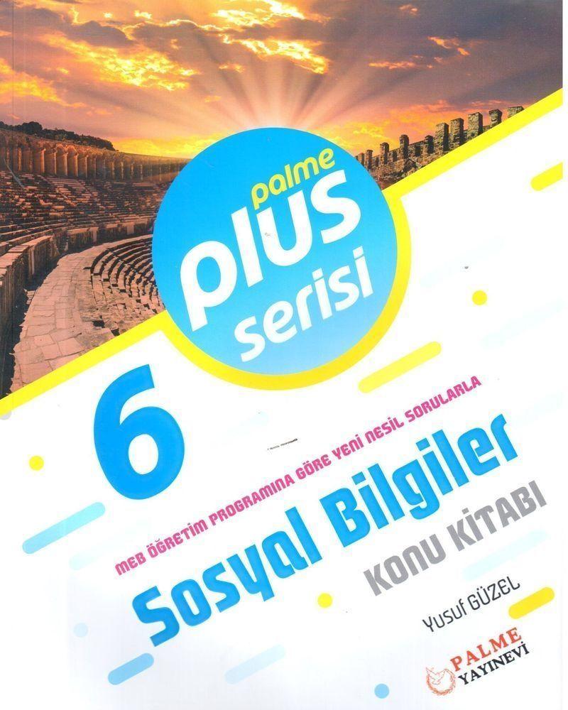Palme Yayınları 6. Sınıf Sosyal Bilgiler Plus Serisi Konu Kitabı