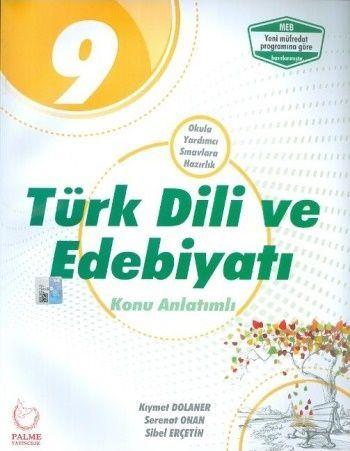 Palme Yayınları 9. Sınıf Türk Dili ve Edebiyatı Konu Anlatımlı