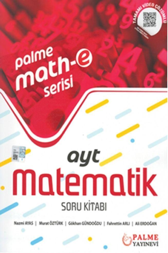 Palme Yayınları AYT Matematik Soru Kitabı Palme Mathe Serisi
