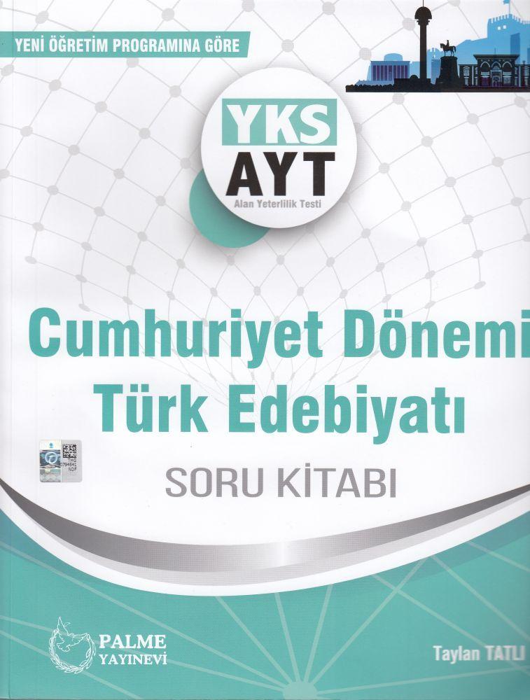 Palme Yayınları AYT Cumhuriyet Dönemi Türk Edebiyatı Soru Bankası
