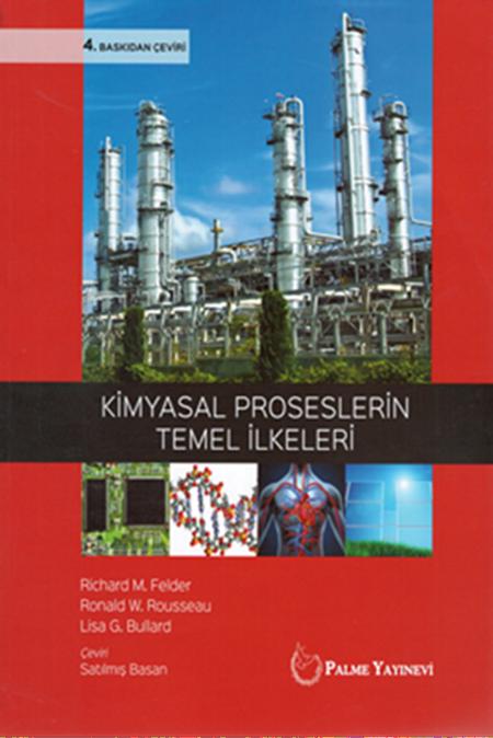 Palme Yayınları Kimyasal Proseslerin Temel İlkeri