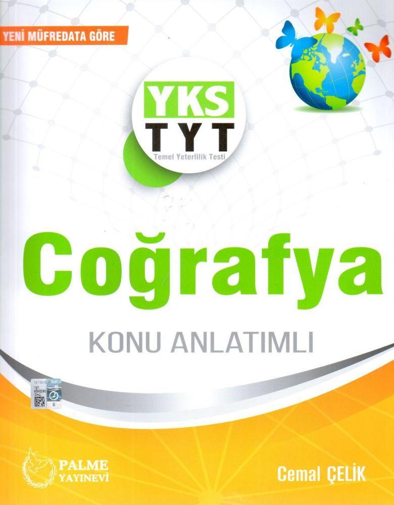 Palme Yayınları TYT Coğrafya Konu Kitabı