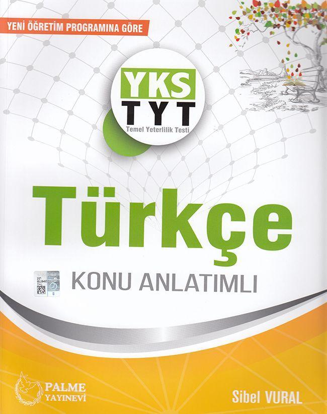Palme Yayınları TYT Türkçe Konu Anlatımlı