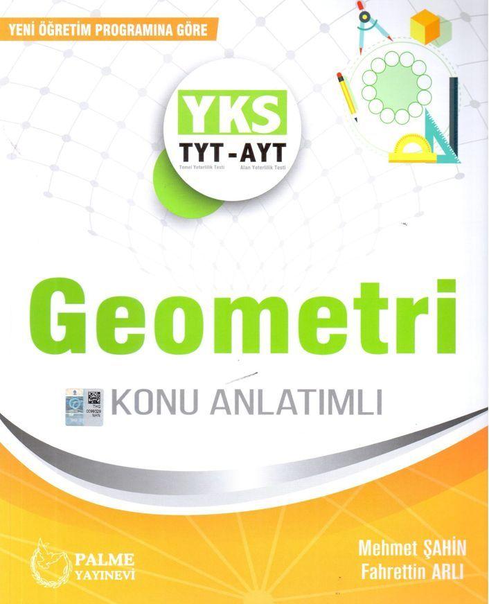 Palme Yayınları TYT AYT Geometri Konu Anlatımlı